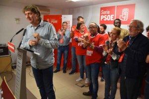 Más mayoría absoluta para el PSOE en Soria