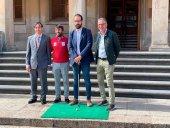 El golf profesional llega al campo de Pedrajas