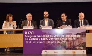 Soria acoge el XXVII Congreso de la Sociedad de Otorrinolaringología