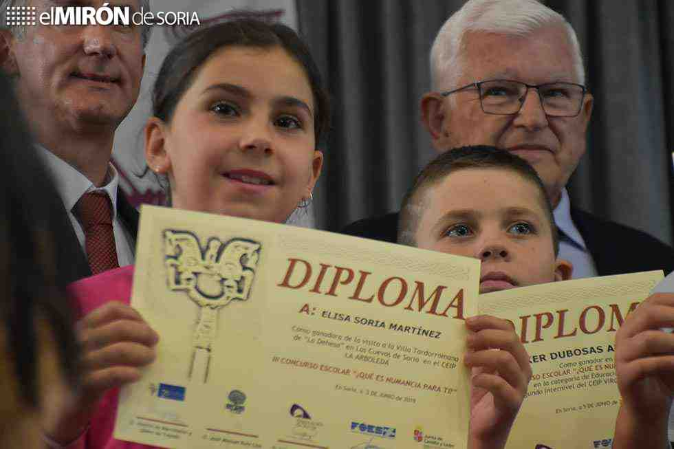 Ganadores del III Concurso escolar ¿Qué es Numancia para ti?
