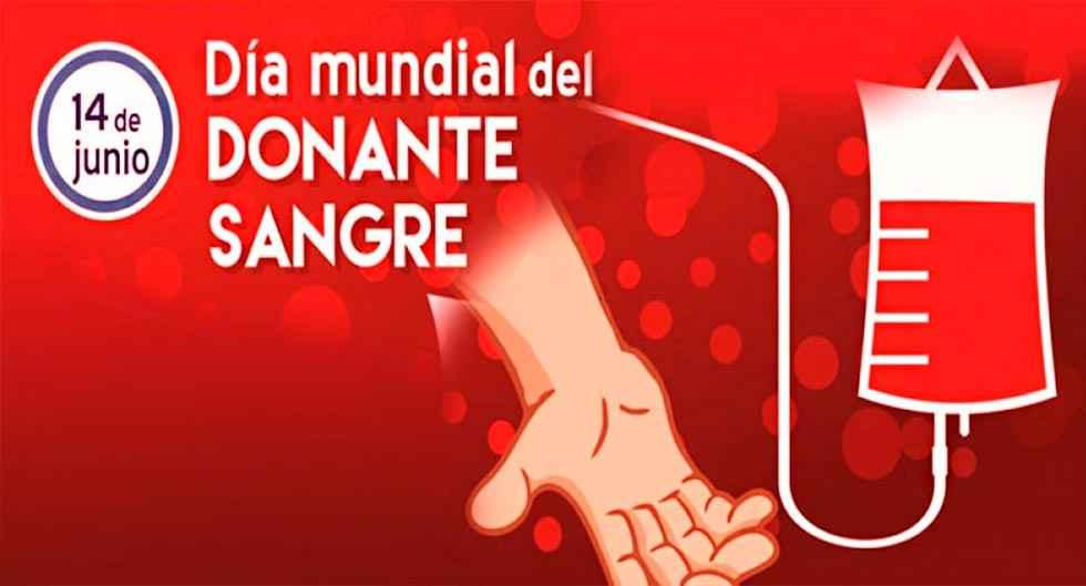 La Comunidad se prepara para el Día Mundial del Donante de Sangre