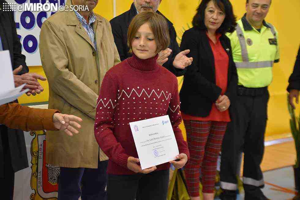 Premiados del XIX Concurso Infantil de Educación Vial