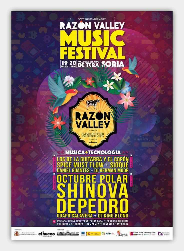 Diez actuaciones musicales en el II Razón Valley Music Festival