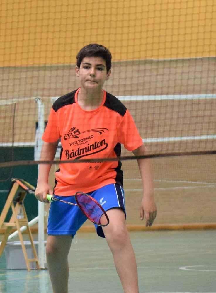 Cinco sorianos en el torneo de bádminton de Oviedo