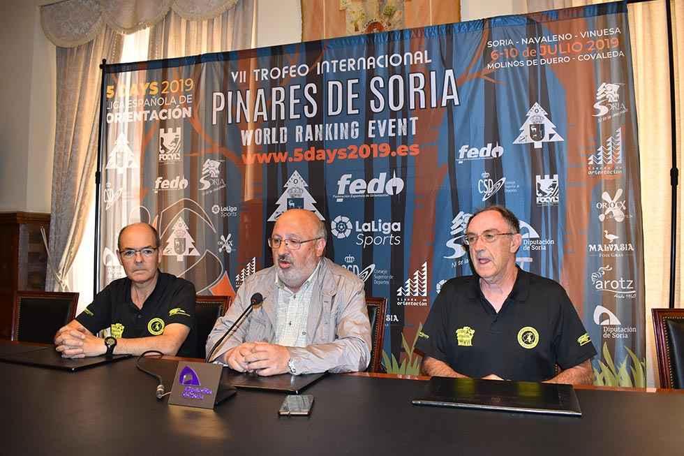 """La Diputación apoya el Trofeo Internacional de Orientación """"5 días de Soria"""""""