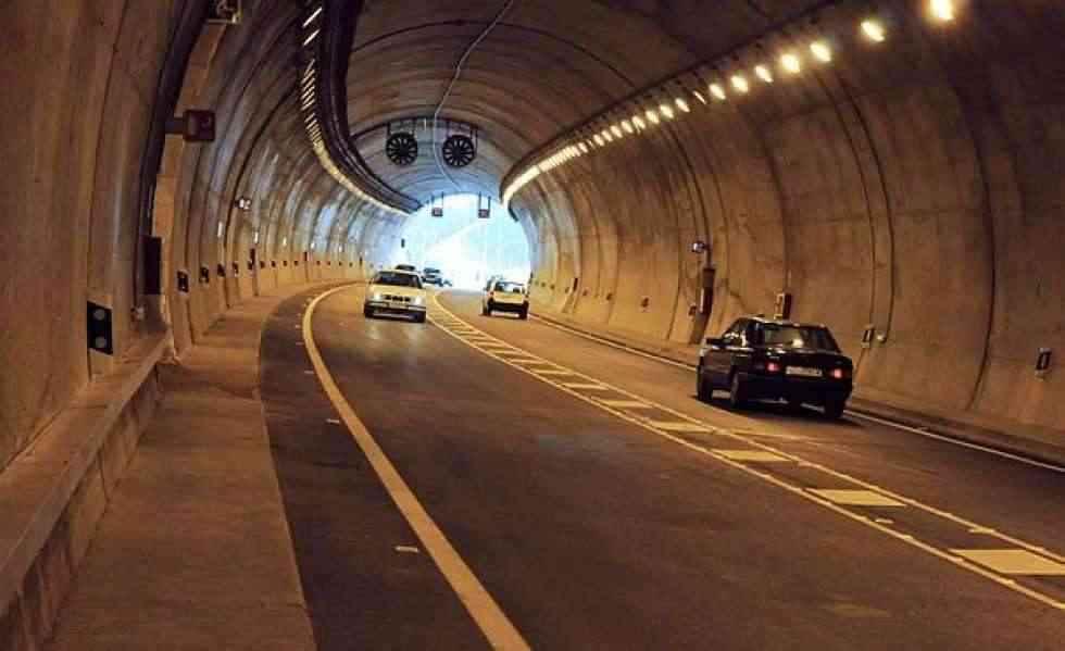 Cierre del túnel de Piqueras por labores de mantenimiento