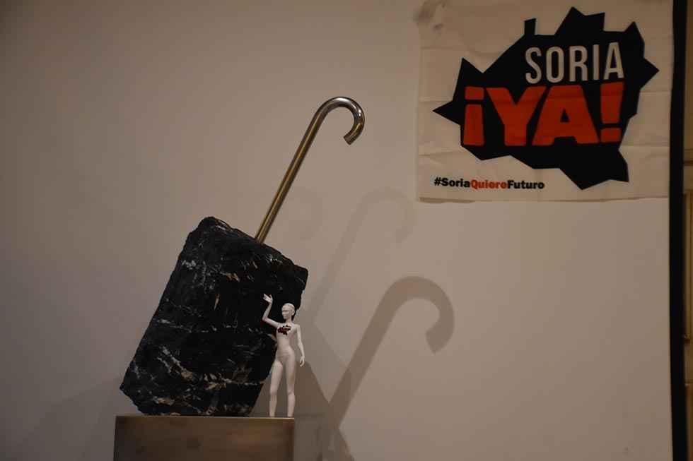 """""""Excalibur"""", un símbolo para la revuelta de la España vaciada"""