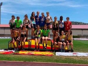 Dos medallas en el Campeonato de España infantil