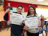 Alumnos de Escolapios, premiados en concurso de Jóventes Talentos de Relato Corto