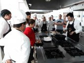 Los futuros cocineros de Madrid conocen el Torrezno de Soria