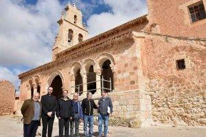 La Junta avanza en restauración de iglesia de Rejas de San Esteban