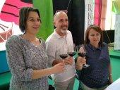 Ganadores del premio al mejor tinto y rosado de la Feria del Vino