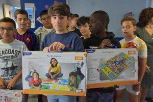 El CEIP Las Pedrizas dona material infantil al hospital - fotos