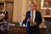 Serrano, nuevo presidente de la Diputación, con rechazo socialista