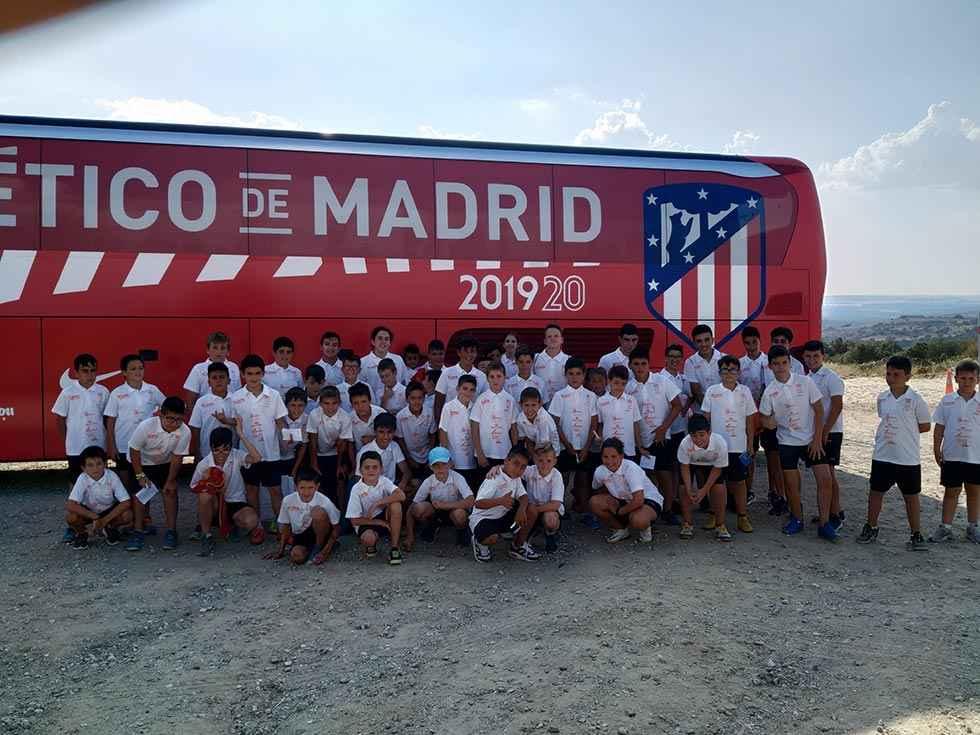 Clausura del V Campus de fútbol Pablo Machín