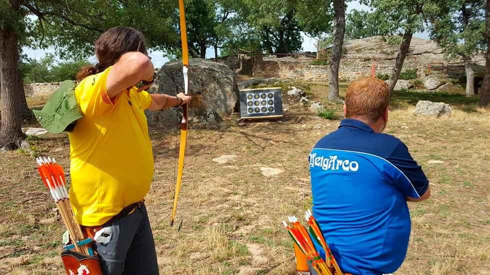 Resultados del Campeonato de España de Campo de Tiro con arco