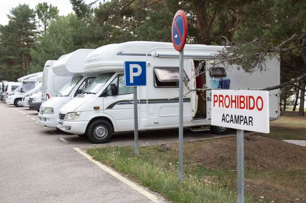 ASOHTUR denuncia las pernoctaciones ilegales de autocaravanas