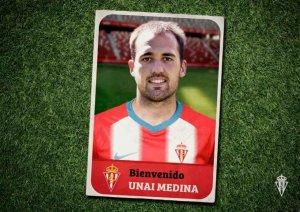 Unai Medina elige el Sporting para dar un paso adelante en su carrera