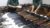 La Guardia Civil destruye 7.800 armas en la región en 2018