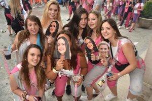 San Leonardo: pregón de fiestas y desfile de carrozas - fotos
