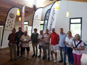 Ganadores del II Torneo de Golf de Mateogrupo