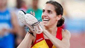 Marta Pérez, primera en los 3.000 metros en Pamplona