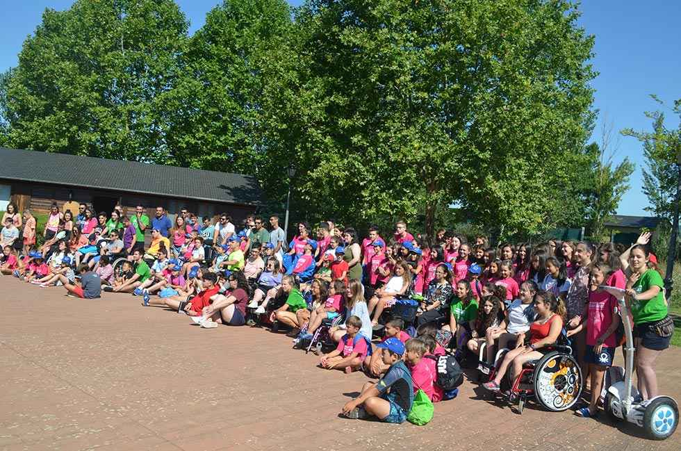Comienza el XXII Campamento ASPAYM para más de 120 niños