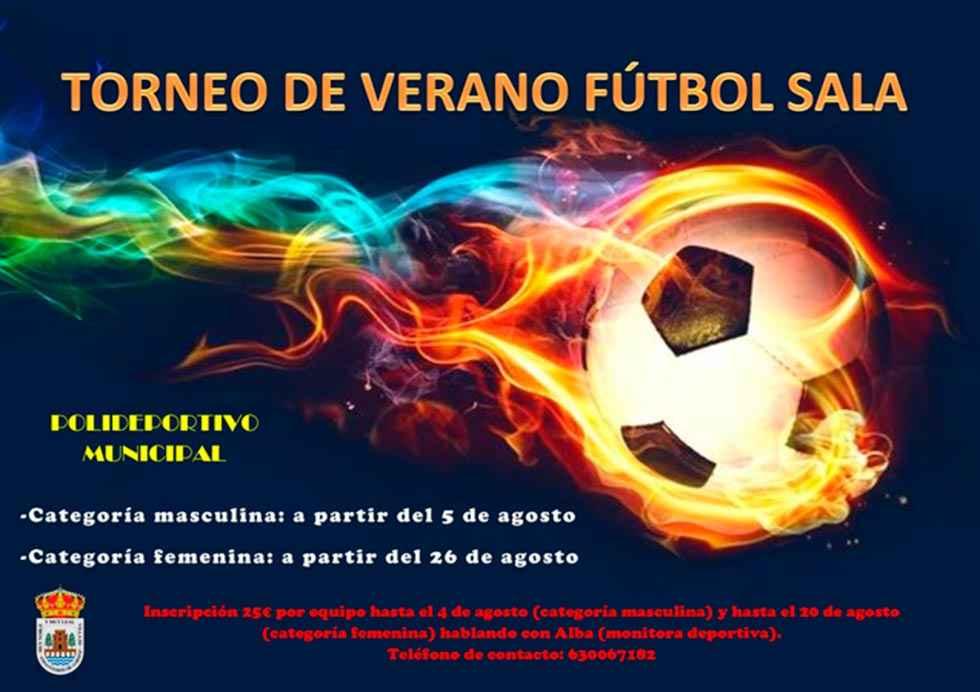 Liga de fútbol sala de verano, en San Esteban de Gormaz