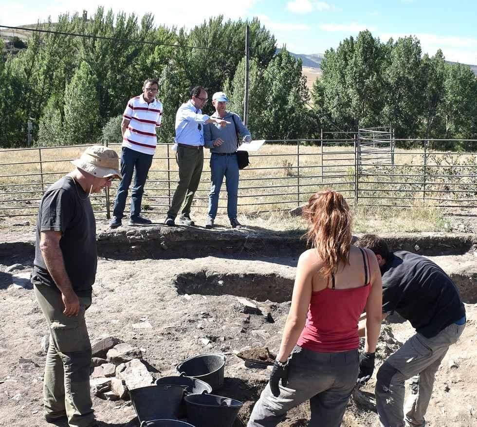 La campaña arqueológica en Los Casaresdelimita unavivienda tardo-visigoda