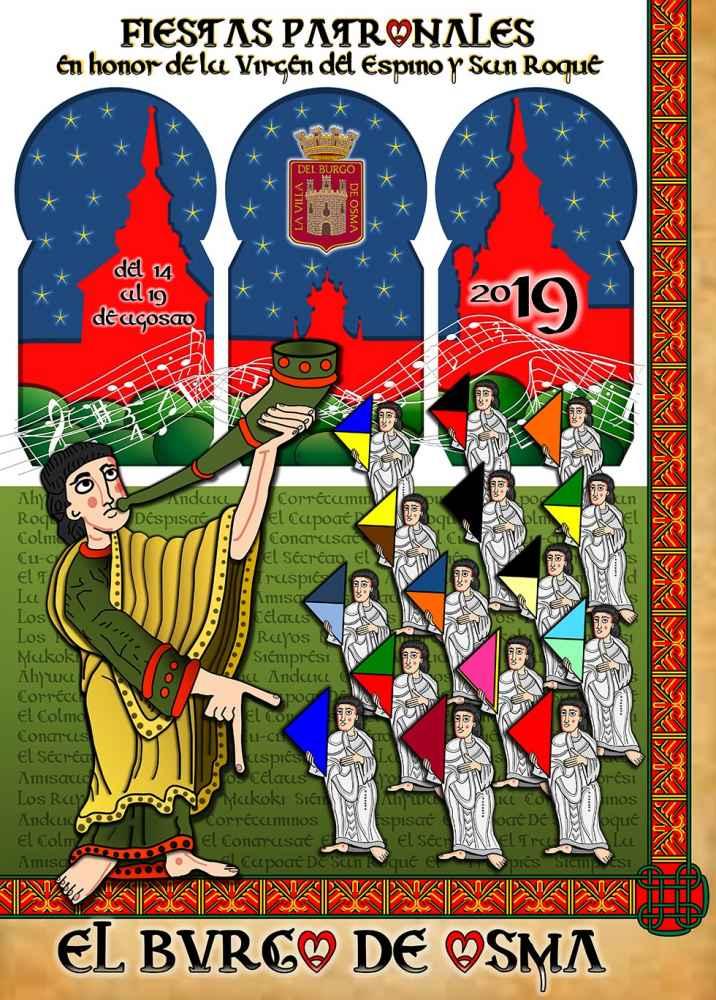 Programa de las fiestas patronales de El Burgo de Osma