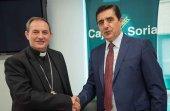Convenio entre Caja Rural y Obispado para reparar templos