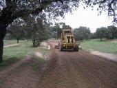La Junta mejora 13 kilómetros de caminos agrícolas