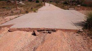Diputación repara los socavones del Camino Natural Santander-Mediterráneo