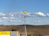 Un rayo calcina ocho hectáreas de rastrojo en Noviercas