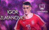 El delantero internacional serbio, Igor Zlatanovic, refuerzo para el Numancia