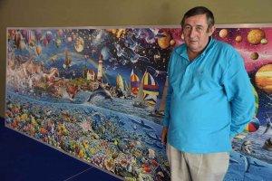 Almazán: exposición de puzzles de Eduardo Soto - fotos