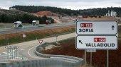 Cinco heridos en vuelco de coche en A-11, en El Burgo de Osma