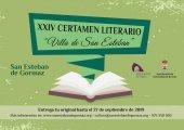 Bases para el XXIV Certamen literario