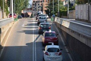 Soria: salida de la marcha lenta por la A-11 - Fotos