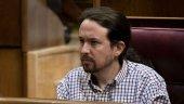 Pablo Iglesias, apenado por descenso del Numancia