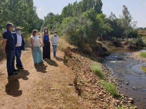 Latorre destaca actuaciones para mejorar cauces de ríos