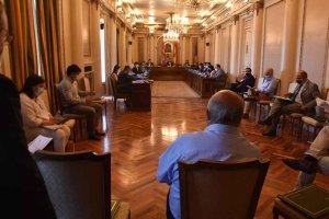 Pleno en la Diputación de Soria - fotos
