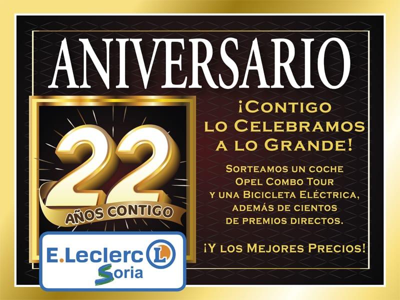 22 Aniversario Leclerc